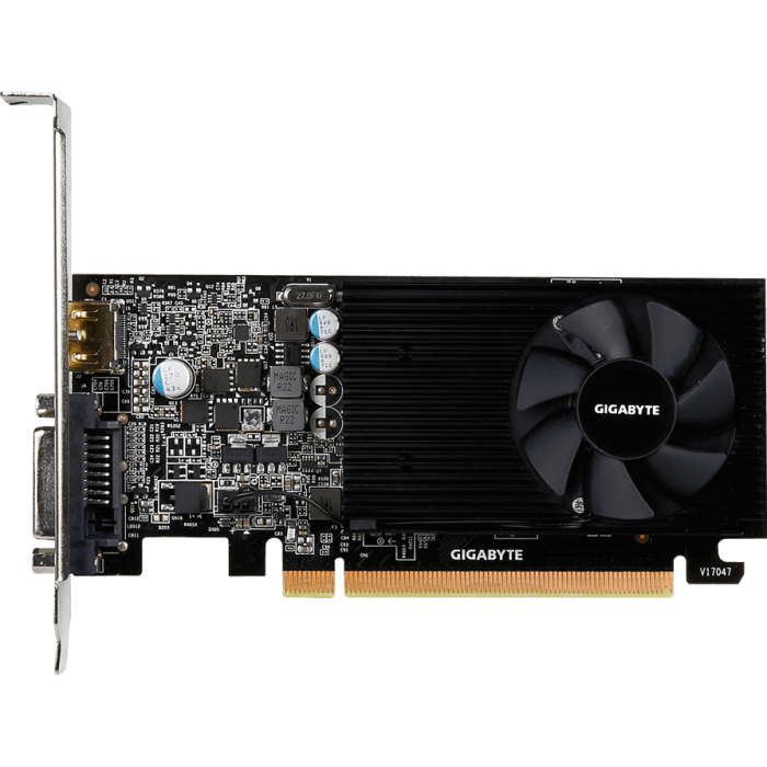 Placa video GIGABYTE GeForce GT 1030 Low Profile 2GB GDDR5 64-bit 2