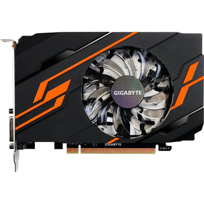 Placa video GIGABYTE GeForce GT 1030 OC 2GB GDDR5 64-bit [2]