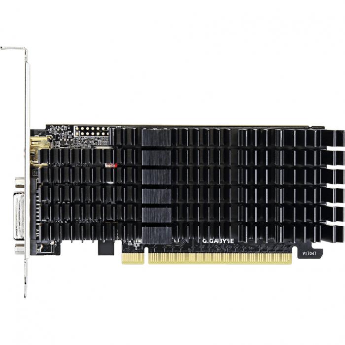 Placa video GIGABYTE GeForce GT 710 2GB GDDR5 64-bit Low Profile 2