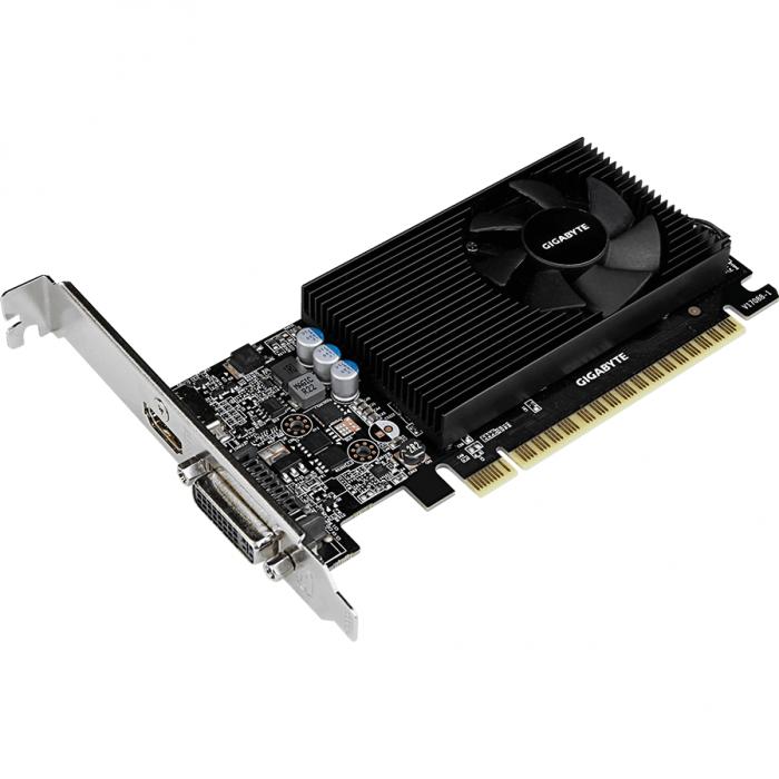 Placa video GIGABYTE GeForce GT 730 2GB GDDR5 64-bit 2