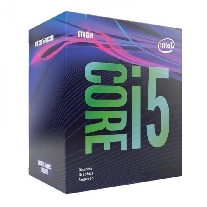 Procesor Intel Coffee Lake, Core i5 9400F 2.9GHz box [0]