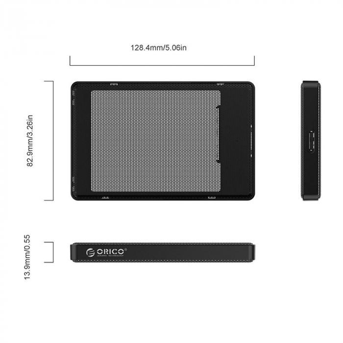 Rack Orico 2169U3 USB 3.0 Black [2]