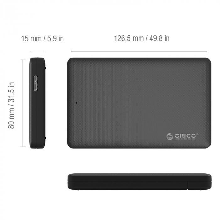 Rack Orico 2577U3 USB 3.0 Black 3