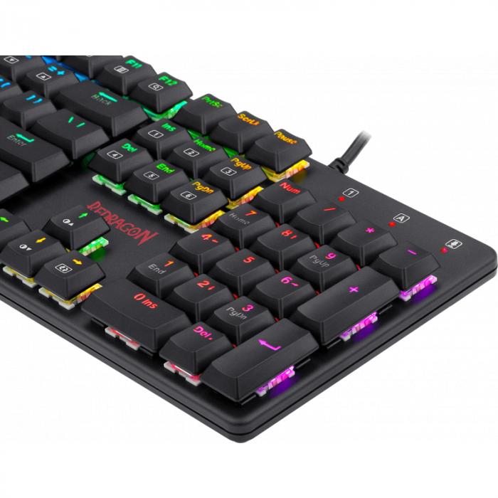 Tastatura Gaming Redragon Shrapnel RGB Mecanica Red Switch [5]