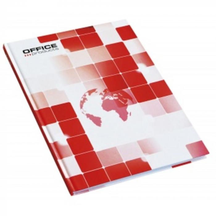 Registru A5, 96 file 55g/mp, coperti carton rigid, Office Products - matematica 0