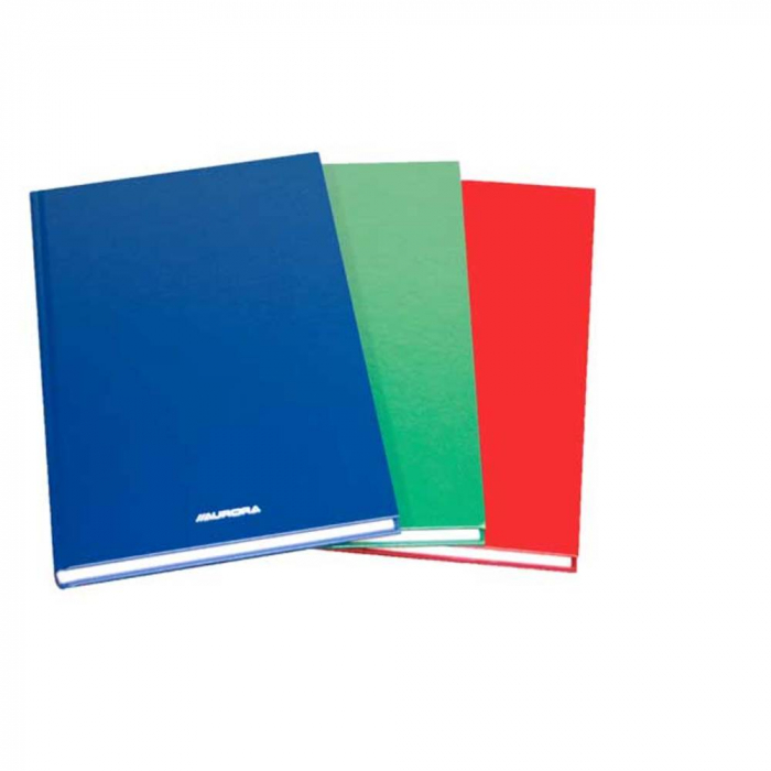Registru cartonat A5, 96 file - 80g/mp, AURORA - dictando 0