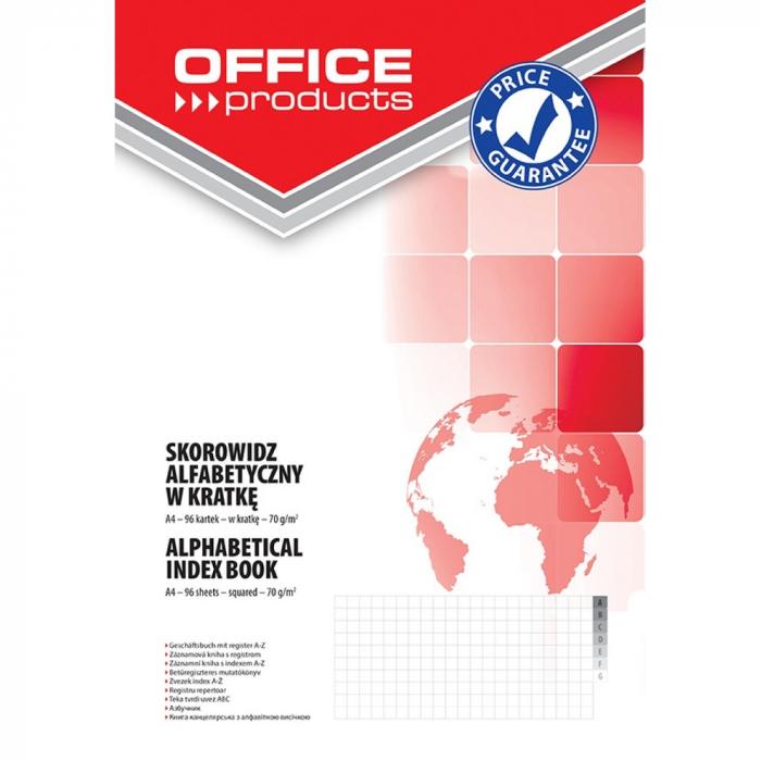 Repertoar A4, 96 file 70g/mp, coperti carton rigid, Office Products - matematica [0]