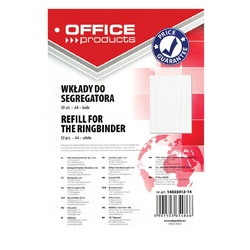 Rezerva A4 pentru caiet mecanic, 50 file/top, Office Products - matematica [0]