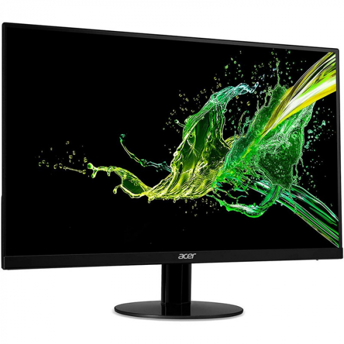 Monitor Acer IPS LED 23.8 inch SA240YA, Full HD, VGA + HDMI, black 1