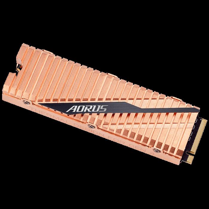 SSD GIGABYTE AORUS 500GB PCI Express 4.0 x4 M.2 2280 [3]