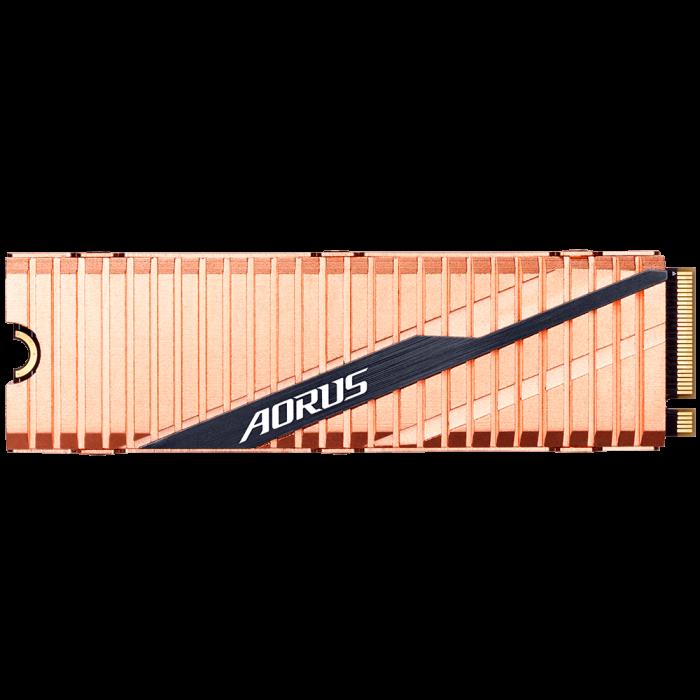 SSD GIGABYTE AORUS 500GB PCI Express 4.0 x4 M.2 2280 [2]
