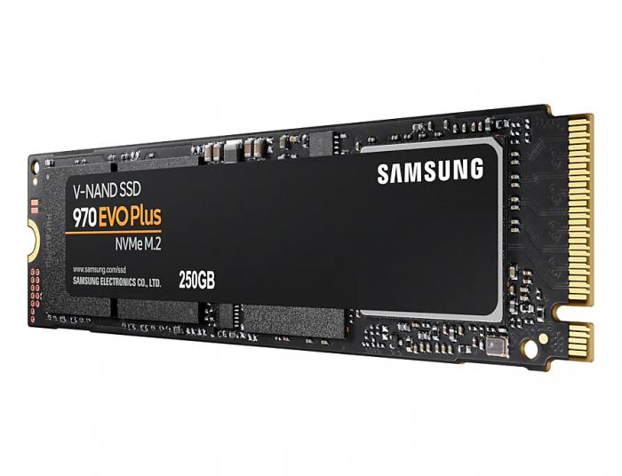 SSD Samsung 970 EVO Plus 250GB NVMe M.2 2280 [2]