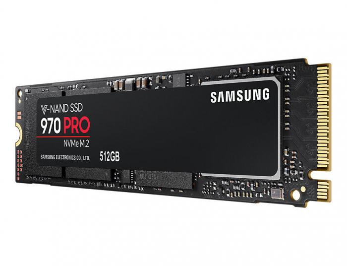 SSD Samsung 970 PRO 512GB PCI Express x4 M.2 2280 [2]