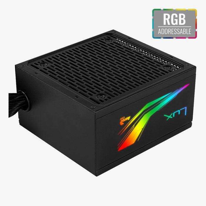 Sursa Aerocool LUX RGB, 80+ Bronze, 550W [2]