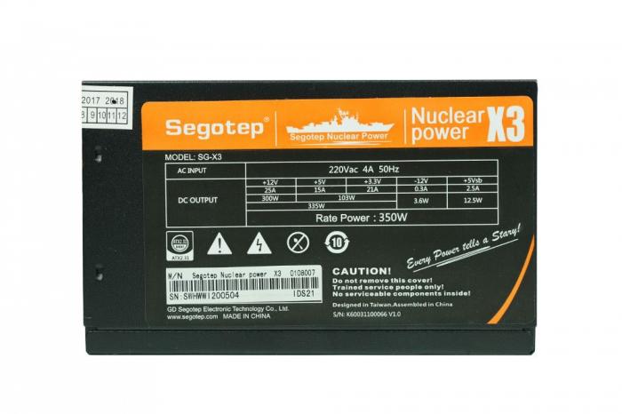 Sursa Segotep X3 Nuclear Power 350W [0]