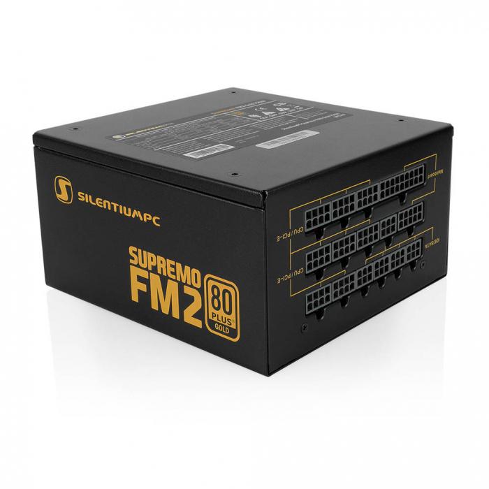Sursa SILENTIUM PC 750W, Supremo FM2 Gold Series, 80 PLUS Gold [0]