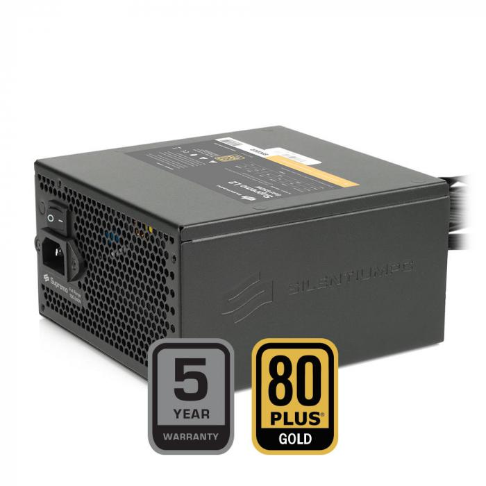 Sursa SILENTIUM PC Supremo L2 Gold 650W [6]