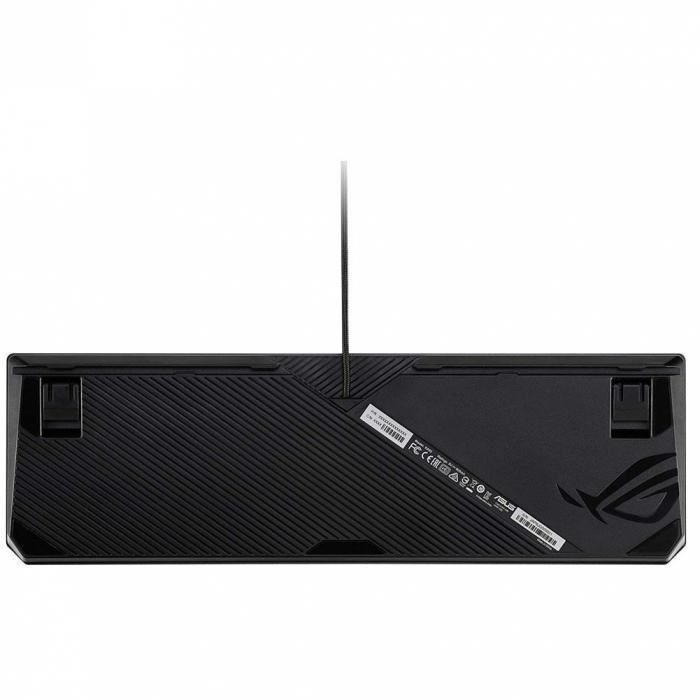 Tastatura gaming mecanica Asus ROG Strix Scope Deluxe switch-uri Cherry MX Red neagra iluminare RGB [4]