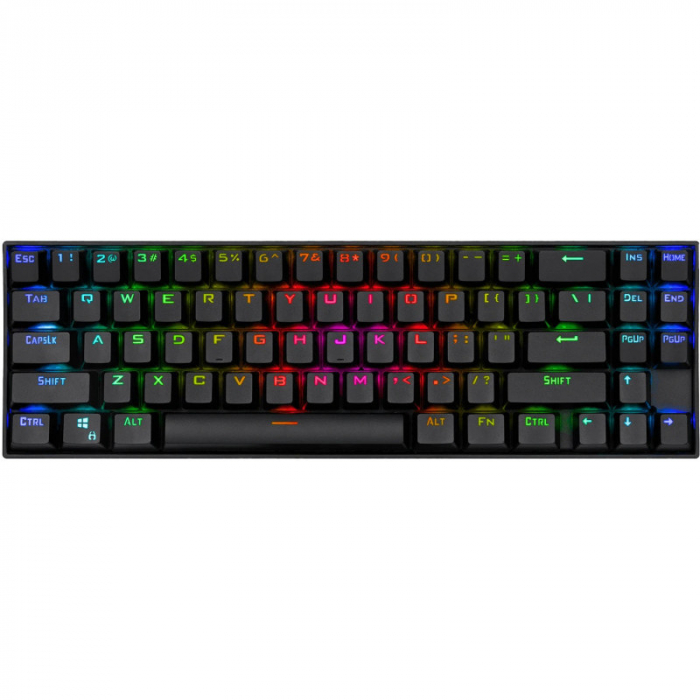 Tastatura Gaming Redragon Deimos, RGB, Mecanica, Red Switch, 2.4G wireless + wired [0]