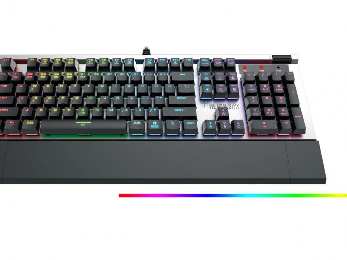 Tastatura mecanica Gamdias Hermes P2 iluminare RGB [4]