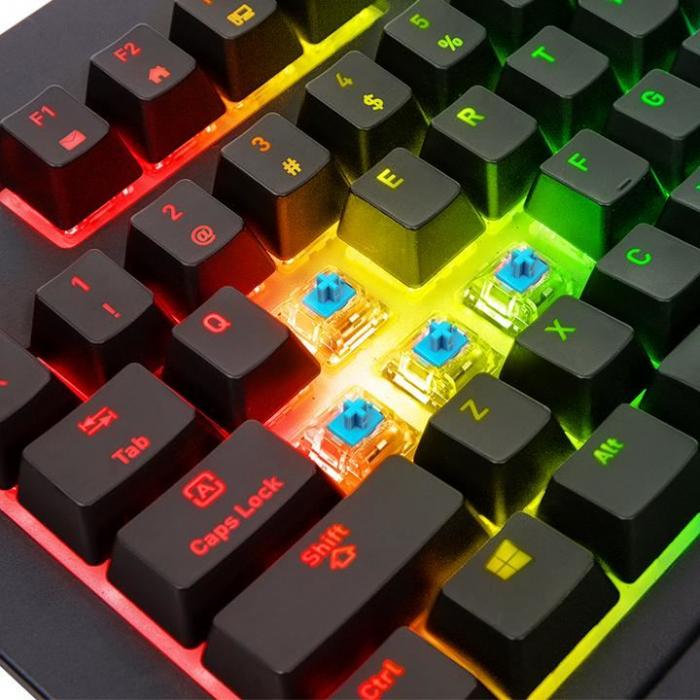 Tastatura mecanica Tt eSPORTS Premium X1 RGB neagra [5]