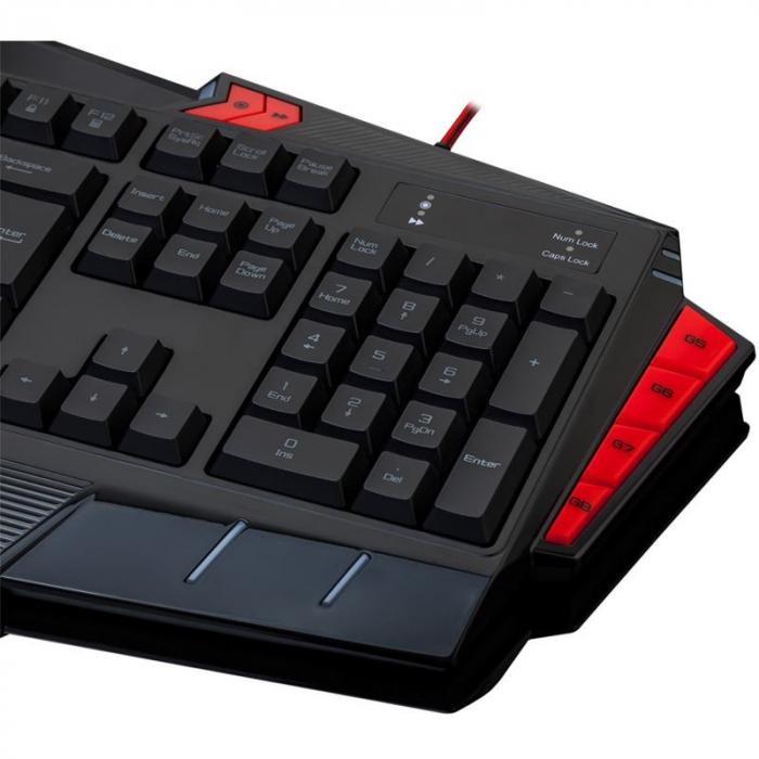 Tastatura Redragon Asura neagra [4]