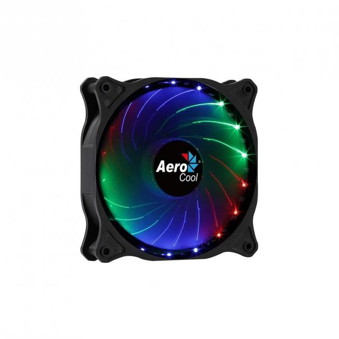 Ventilator Aerocool Cosmo12 120mm iluminare RGB [3]