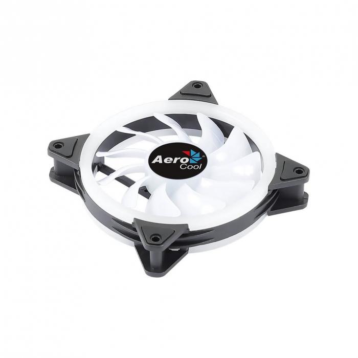 Ventilator Aerocool Duo 12 120mm iluminare aRGB [4]