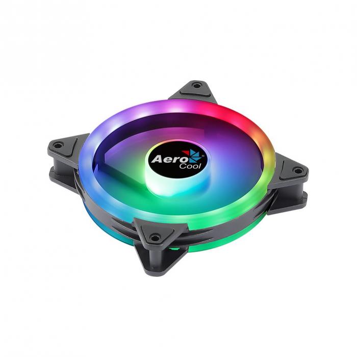 Ventilator Aerocool Duo 12 120mm iluminare aRGB [5]