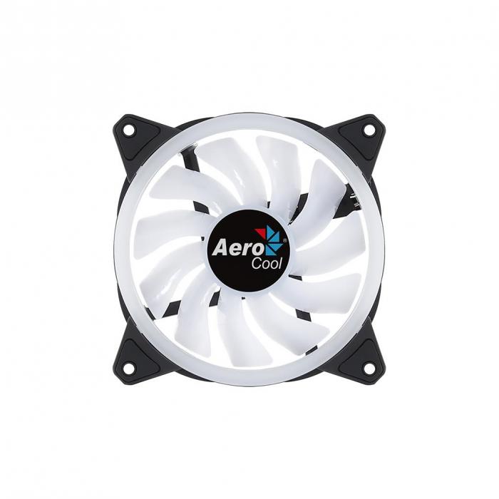 Ventilator Aerocool Duo 12 120mm iluminare aRGB [1]