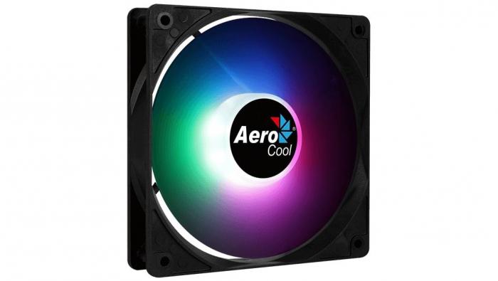 Ventilator Aerocool Frost12 120mm iluminare RGB PWM [7]