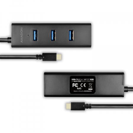 4x USB3.0 Charging Hub, MicroUSB Charging Connector, Type-C [11]