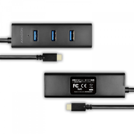 4x USB3.0 Charging Hub, MicroUSB Charging Connector, Type-C [3]