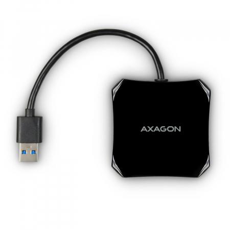 4x USB3.0 QUATTRO Black Hub [10]