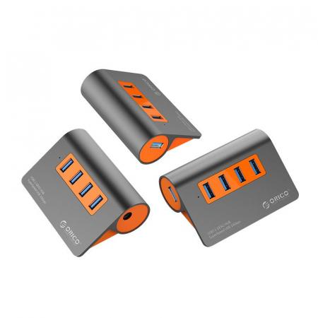 Hub USB Orico M3H4-G2 USB 3.1 Orange2