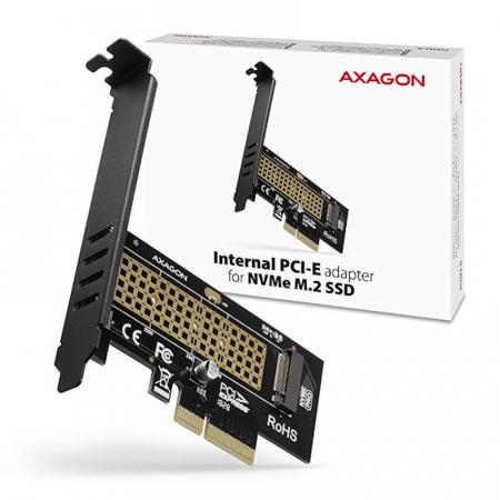 Adaptor PCI-Express x4 intern pentru conectarea SSD NVMe M.2 la PC [10]