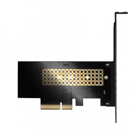 Adaptor PCI-Express x4 intern pentru conectarea SSD NVMe M.2 la PC [8]