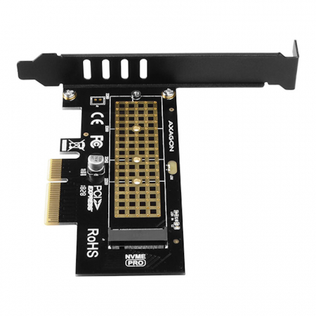 Adaptor PCI-Express x4 intern pentru conectarea SSD NVMe M.2 la PC [9]
