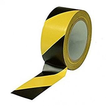 Banda adeziva de marcare/ avertizare, 50mm x 33m1