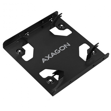 Bracket 2x 2.5 Inch HDD/SSD la 3.5 Inch, Aluminiu [0]