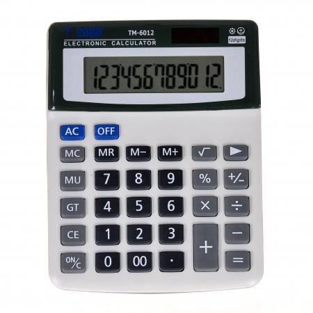 Calculator T2000, model TM6012, 12 digit's0