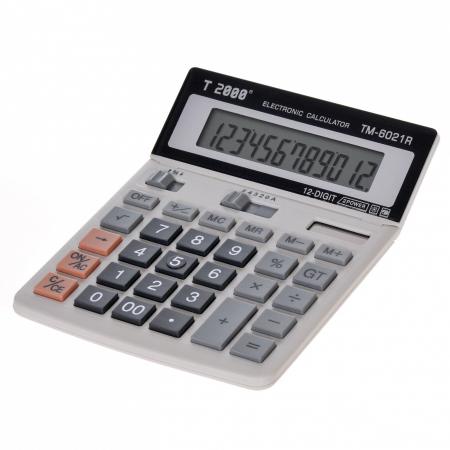 Calculator T2000, model TM 6021R, 12 digit's, cu ecran rabatabil1