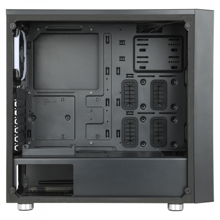 Carcasa ABKONCORE Cronos 510S SYNC neagra, ATX Mid Tower, tempered glass, fara sursa [4]