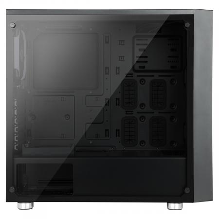 Carcasa ABKONCORE Cronos 510S SYNC neagra, ATX Mid Tower, tempered glass, fara sursa [3]