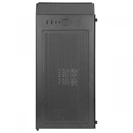Carcasa ABKONCORE Cronos 650 Black, ATX Mid Tower, panou transparent, fara sursa [6]