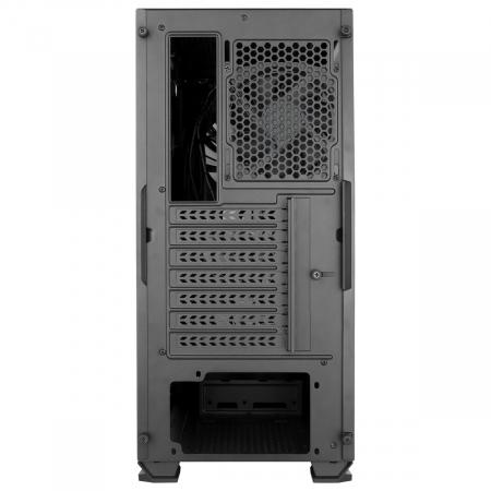 Carcasa ABKONCORE Cronos 750 Black, ATX Mid Tower, tempered glass, fara sursa [9]