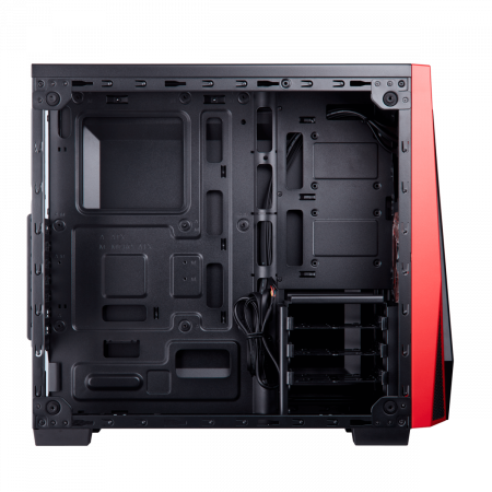 Carcasa Carbide Series SPEC-04 Tempered Glass Mid-Tower  — Black/Red6