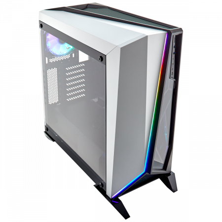 Carcasa Carbide Series OMEGA RGB Mid-Tower Tempered Glass Alba0