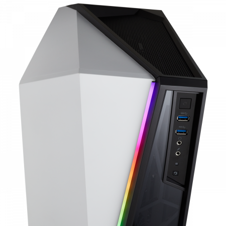Carcasa Carbide Series OMEGA RGB Mid-Tower Tempered Glass Alba6