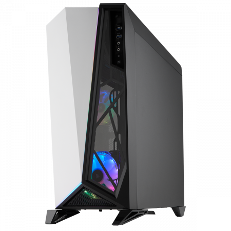 Carcasa Carbide Series OMEGA RGB Mid-Tower Tempered Glass Alba3